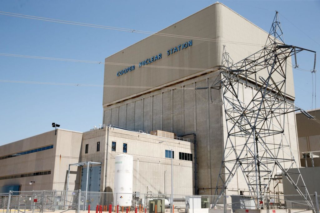 Cooper Nuclear Station Declares Unusual Event