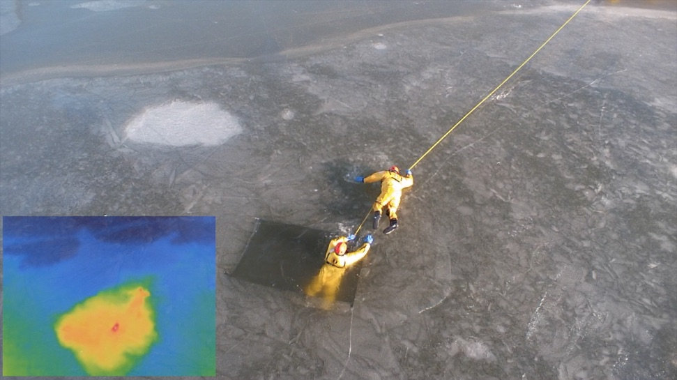 Norfolk Fire and Rescue Trains for Ice Rescues