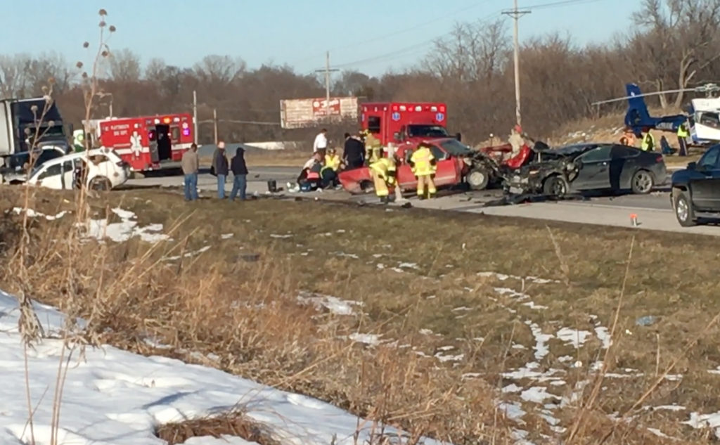 Four Hospitalized After Highway 75 Crash Near Murray