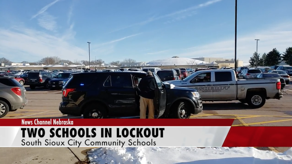 South Sioux City High School And Middle School On Lockout