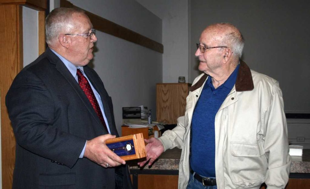 City of Plattsmouth honors longtime councilman
