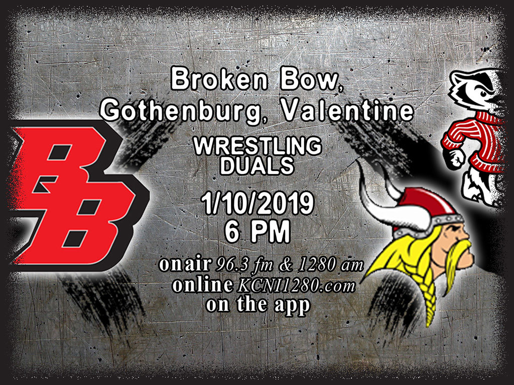 Broken Bow Wrestling Team Prepares for Triangular with Gothenburg and Valentine