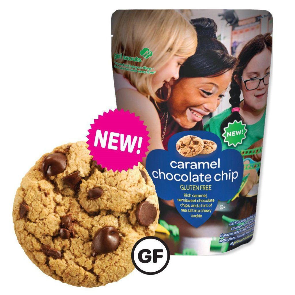 There's a new Girl Scout cookie to tempt your resolutions (and it's gluten free)