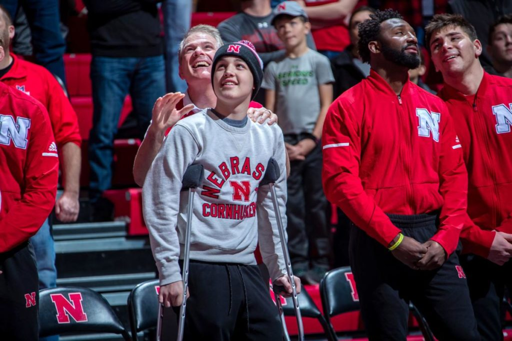 Huskers give wrestling captain title to teen who lost part of leg to cancer​; 'He needs that more than anything right now'