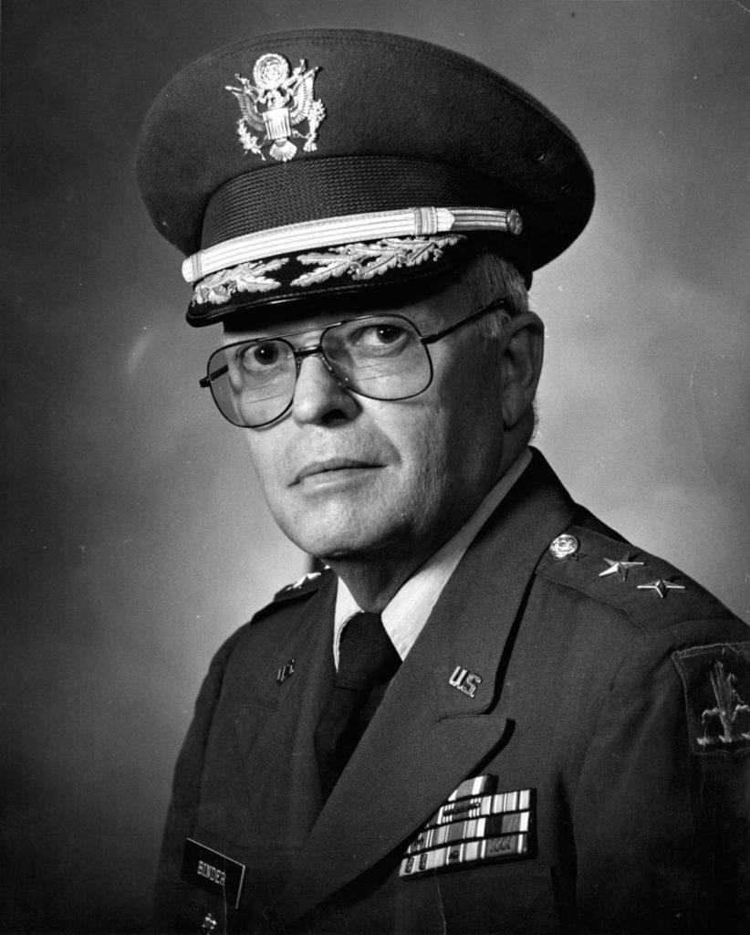 Maj. Gen. Edward Binder, former leader of Nebraska National Guard, dies at 95