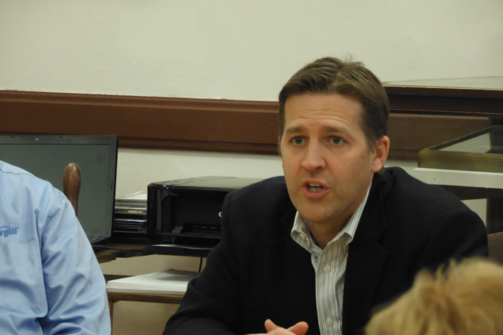 Sasse has $1.4 million in the bank and would plan to raise $6 million if he seeks re-election