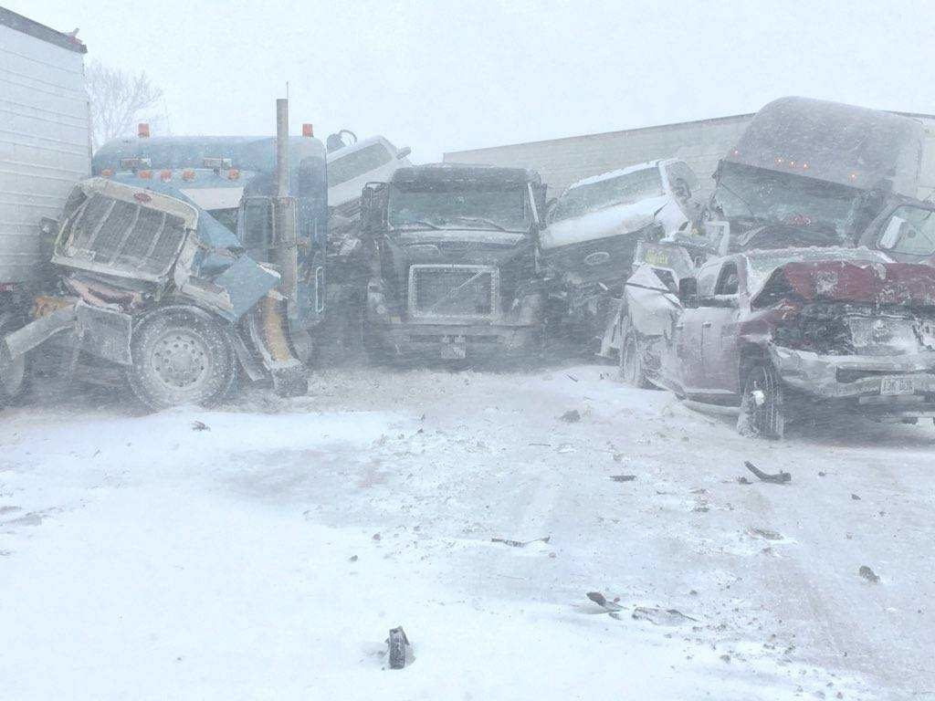 Numerous Crashes, Hundreds of Stranded Motorists Reported After Blizzard