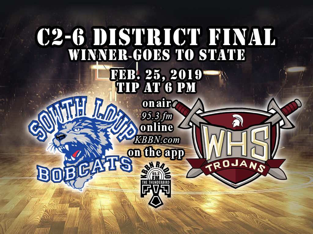 South Loup Plays for District Title on KBBN