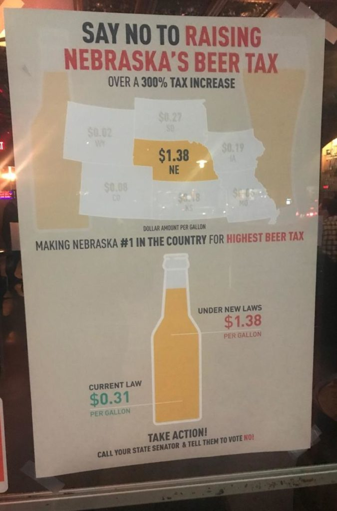 Gov. Pete Ricketts plans to hoist a drink in protest of higher beer taxes