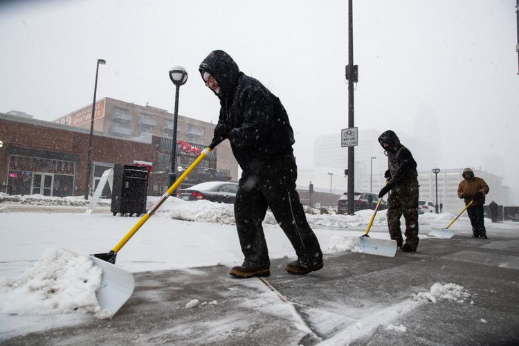 Nebraska remains in winter's grip, but Alaska is warmer than normal