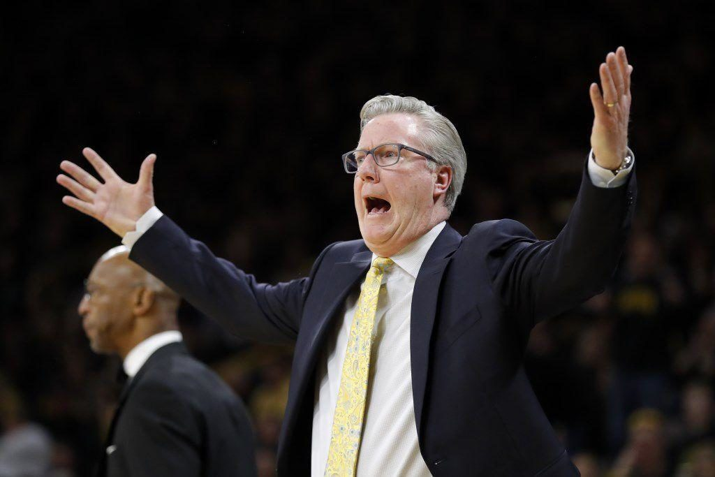 Iowa coach Fran McCaffery suspended for yelling at official, will return for Nebraska game