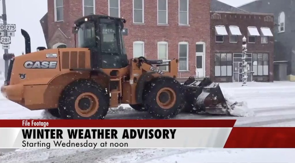 Winter Weather Advisory for Wednesday and Thursday