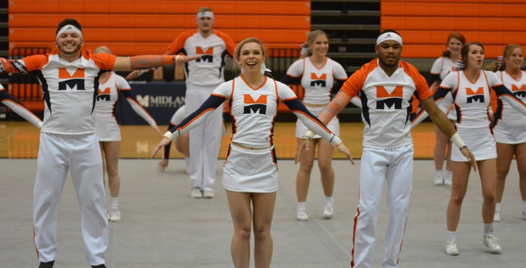 Midland Cheer Finishes Second at Qualifier; Narrowly Misses Nationals Cut