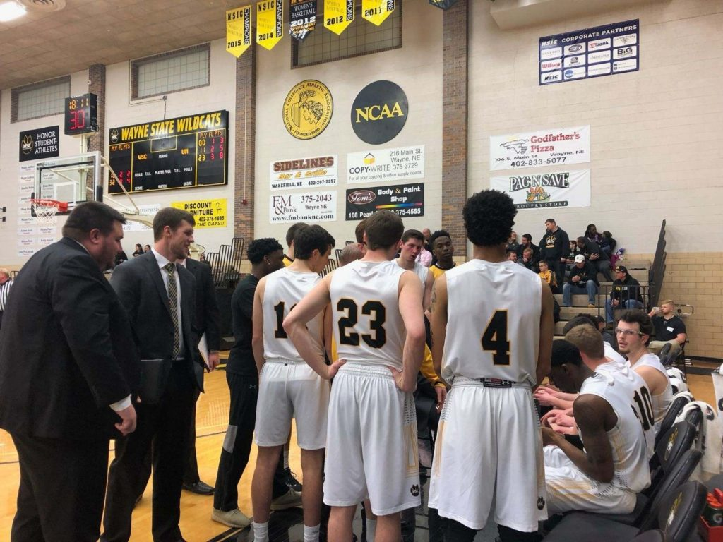 Wayne State Men Pull Away In Second Half, Secure 20th Win On