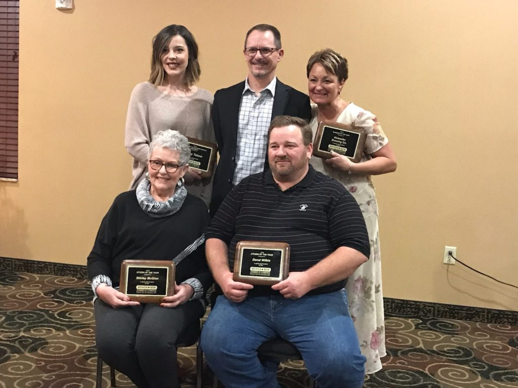 Adam Carriker Speaks at Annual Broken Bow Chamber of Commerce Banquet