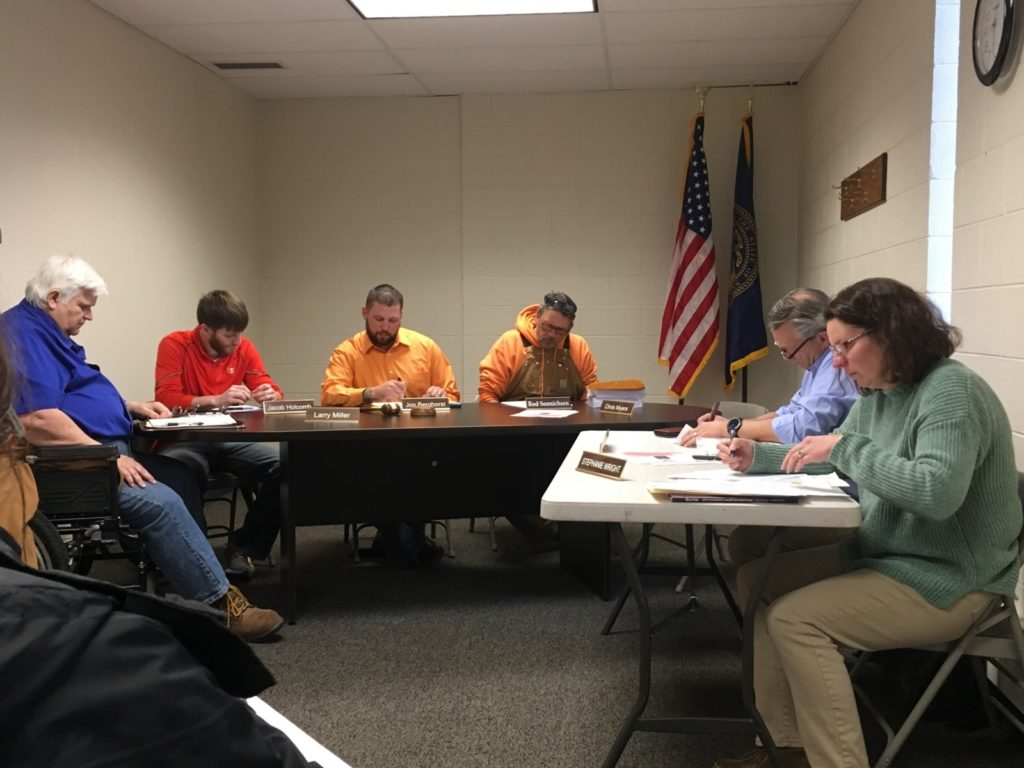 City Council Hosts Quick Meeting