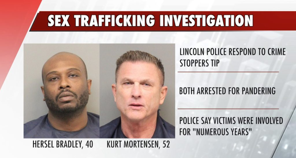 Two arrested in connection to sex trafficking investigation