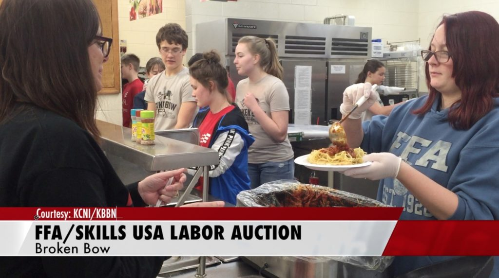 From Spaghetti to State: Students Host Dinner and Labor Auction