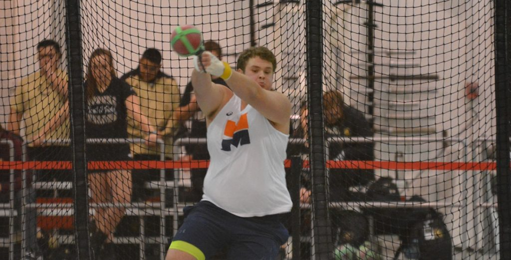 Warriors Compete at GPAC Indoors; Kucera Breaks School-Record