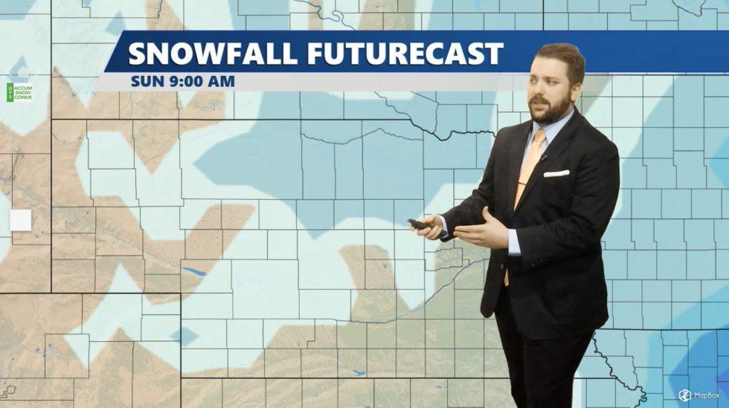 State forecast for Thursday through Sunday