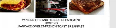 Annual Breakfast To Raise Funds For Area Fire & Rescue Department