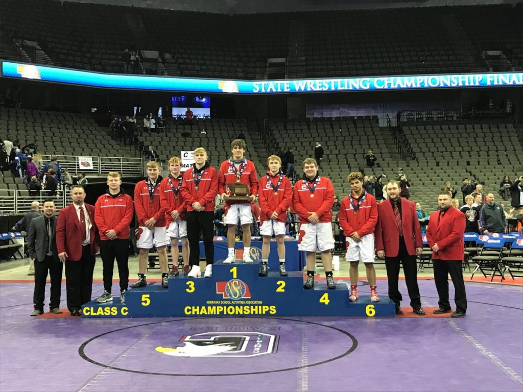 Broken Bow Wrestling Brings Home Class C State Runner-up Trophy