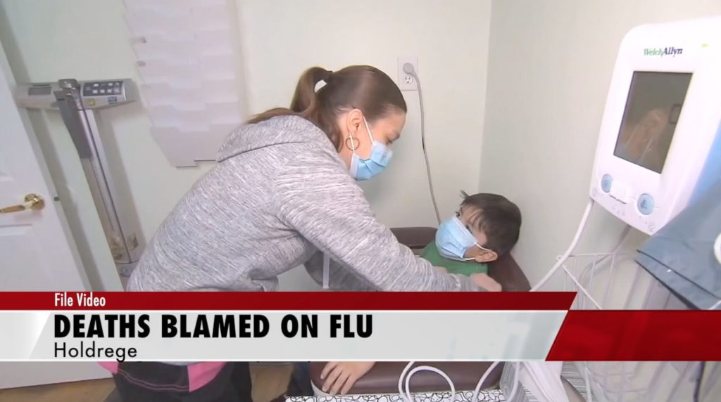 Three flu-related deaths reported in area