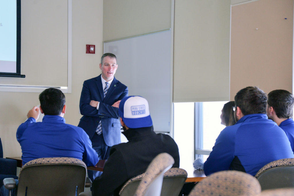 New Chancellor of the Nebraska State College System Visits Peru State
