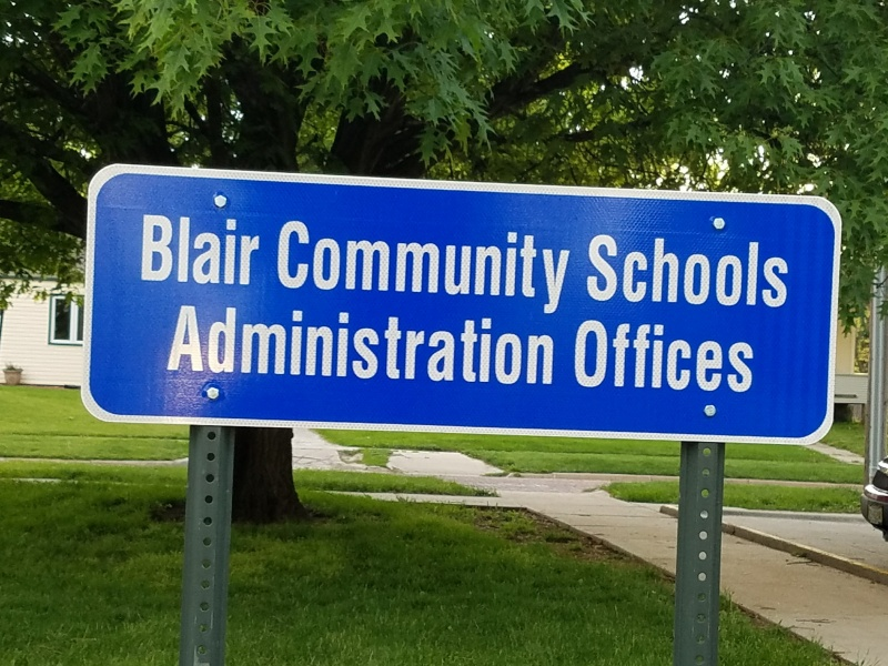 Blair School Board Discusses Safety Kits, Mowing and more.