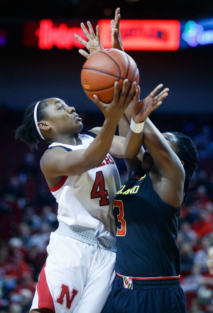 Husker women fend off Penn State's second-half rally with Sam Haiby's 10 free throws