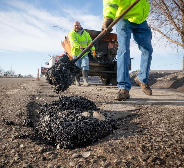 Interstate pothole sidelines four vehicles at once as DOT fights a 'continual battle'