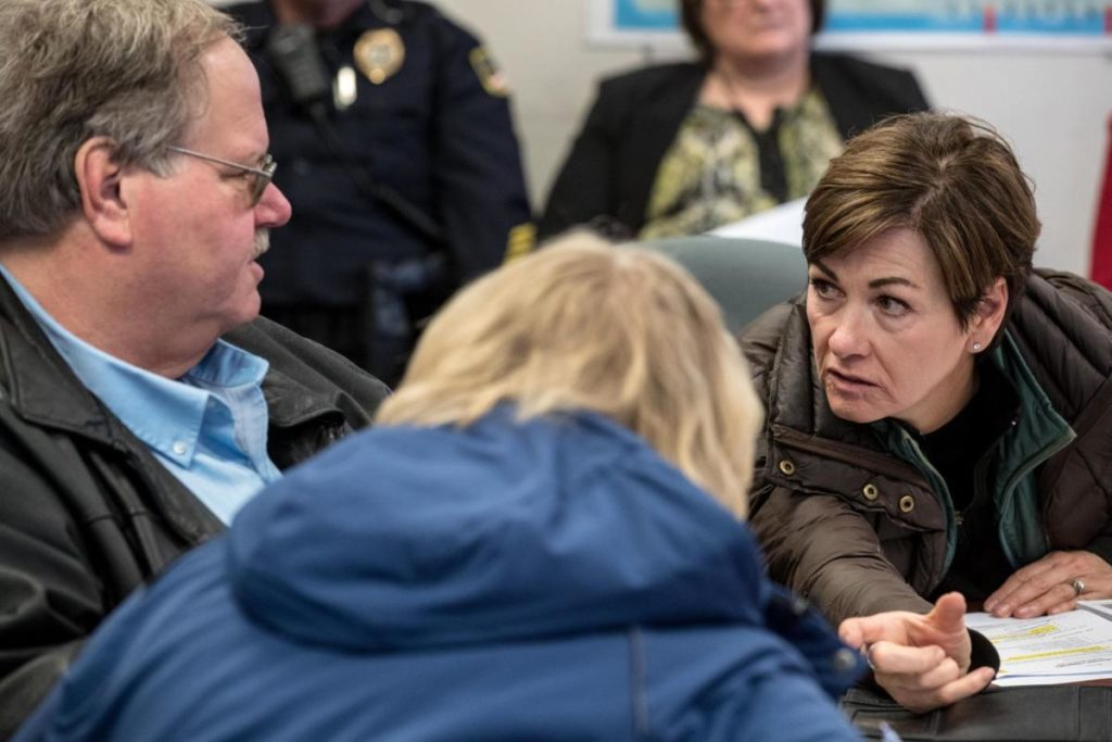 Iowa governor asks President Trump for disaster declaration following floods