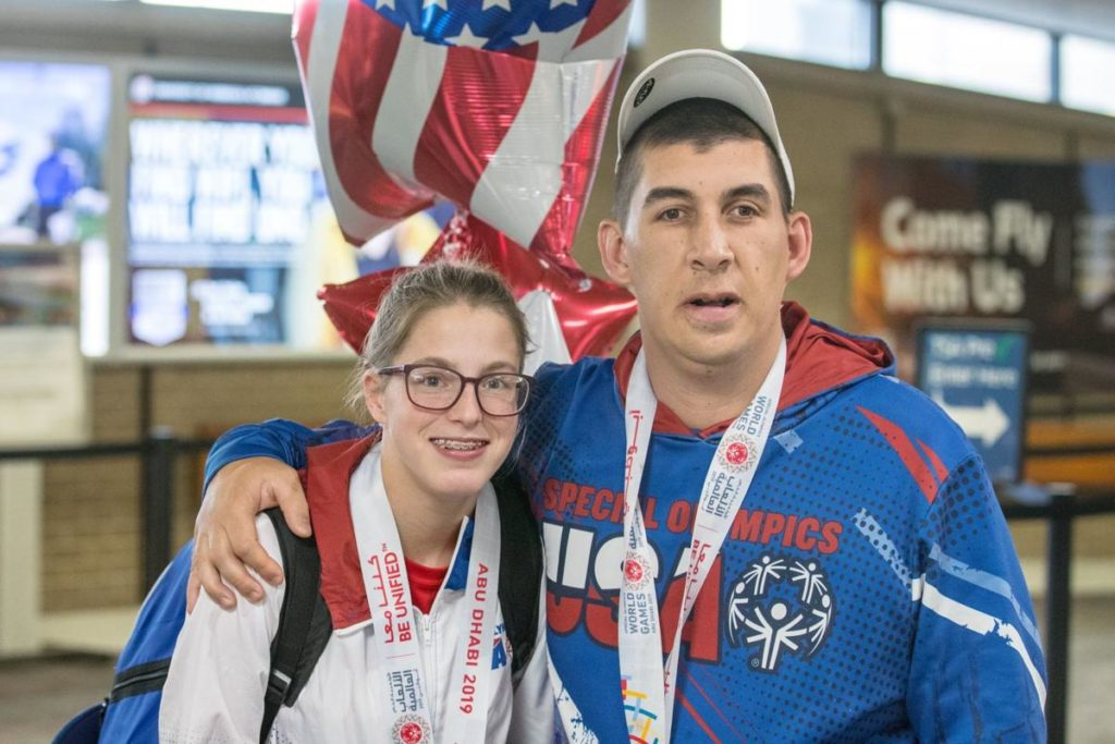 Nebraska Special Olympics athletes welcomed home after nabbing gold medals at World Games