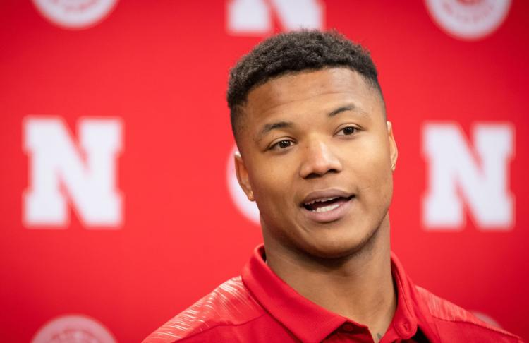 Nebraska's Lamar Jackson can't help but smile about becoming a first-time father