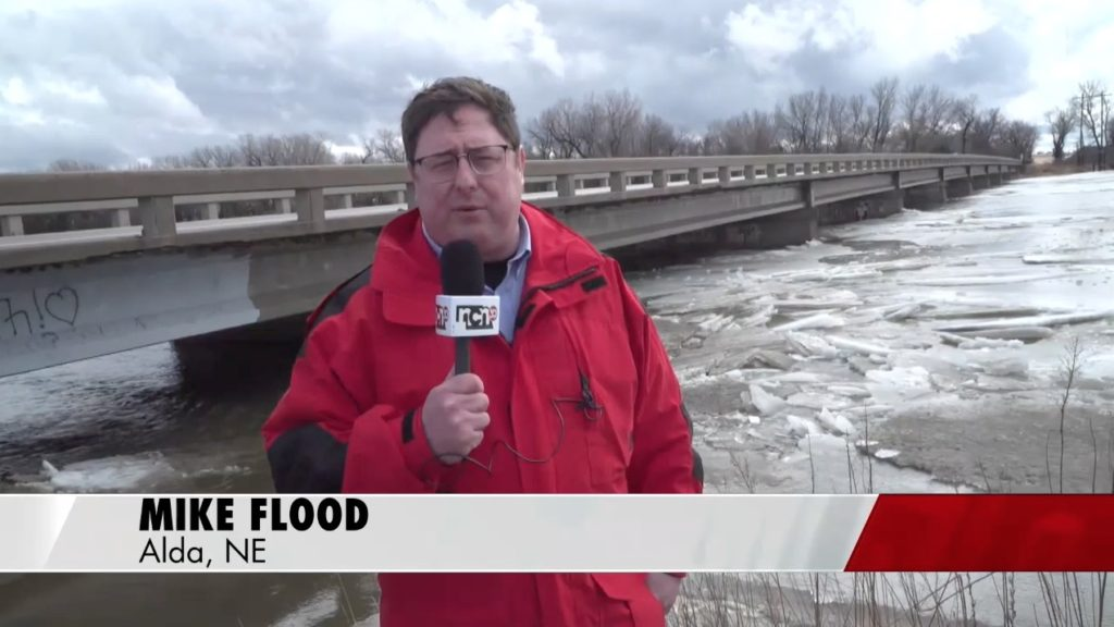 Flooding update near Alda on the Platte River