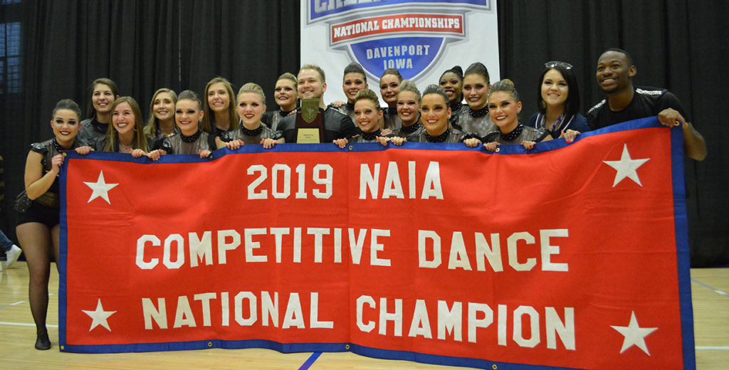 Midland Dance Claims NAIA National Title; Second in Three Years