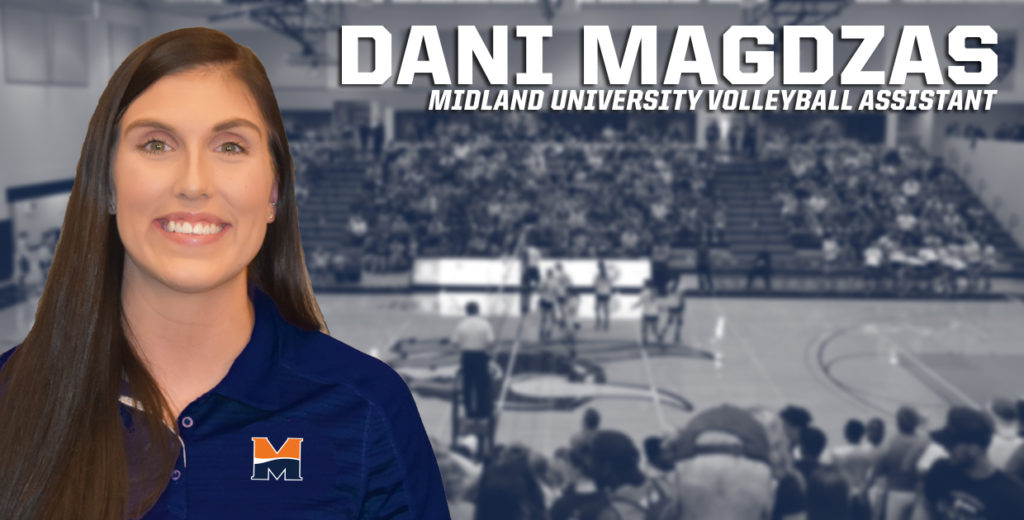 Midland Volleyball Hires Dani Magdzas as Asst Coach