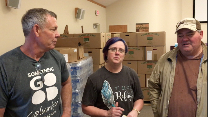 American Churches Giving For Disaster Recovery Here