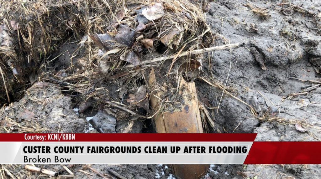 Custer County Fairgrounds Clean Up After Flooding