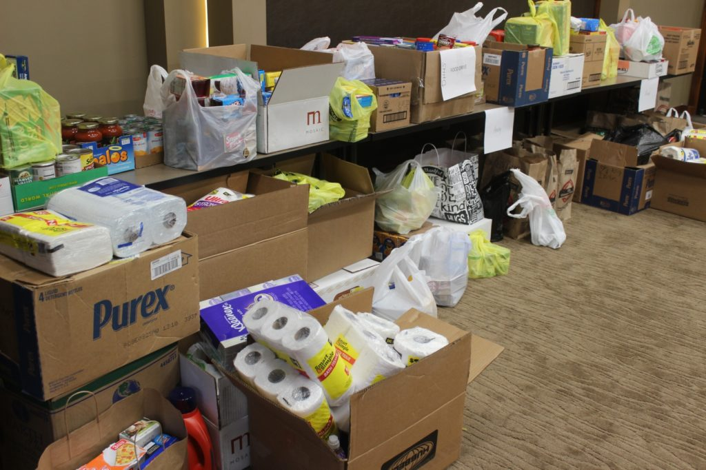Over 3,100 Items Donated During  6th Annual Have a Heart Food Bank Challenge