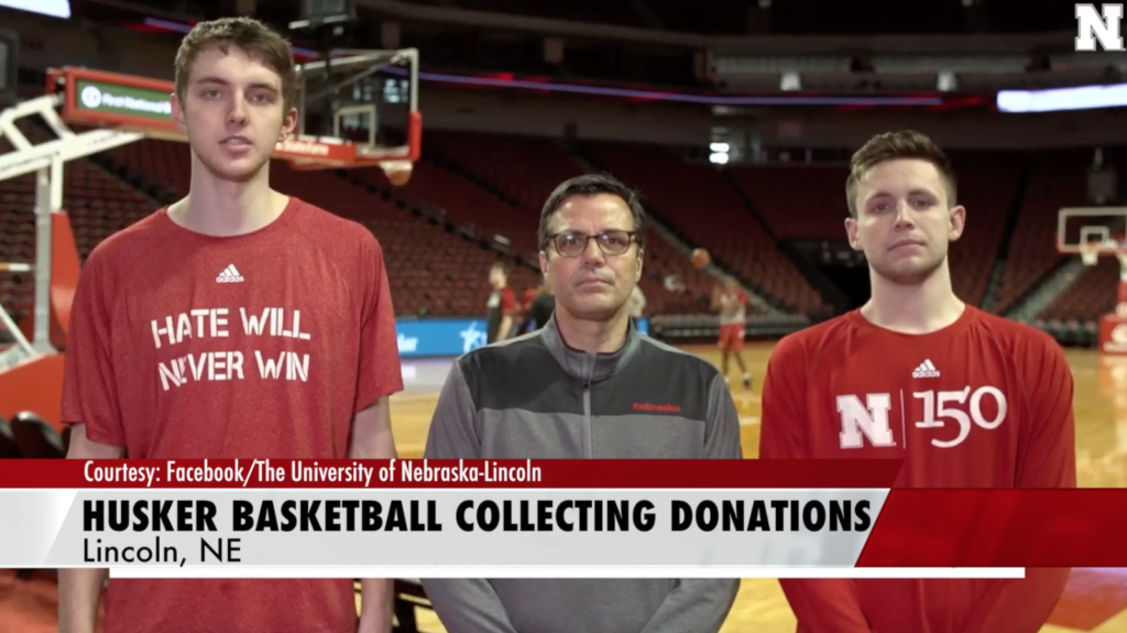 Husker hoops partnering with Red Cross to help flood victims