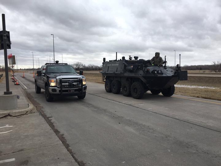 Panhandle troopers rush to northeast Nebraska with resources