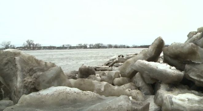 Platte Ice Jam Clear, Dynamiting Snuffed Out