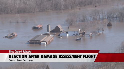 "INTERVIEW: Sen. Scheer Reacts to Flooding Assessment: ""I was amazed…"""