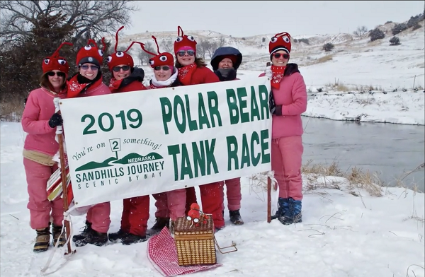 Polar Tank Race Successful Even In Bitterly Cold Temperatures