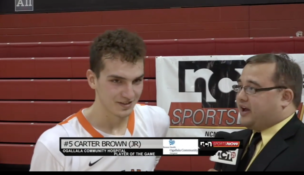 Carter Brown leads Ogallala to quarterfinal comeback