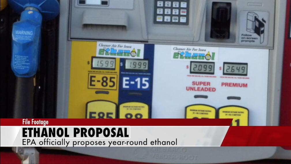 EPA rules on year-round ethanol