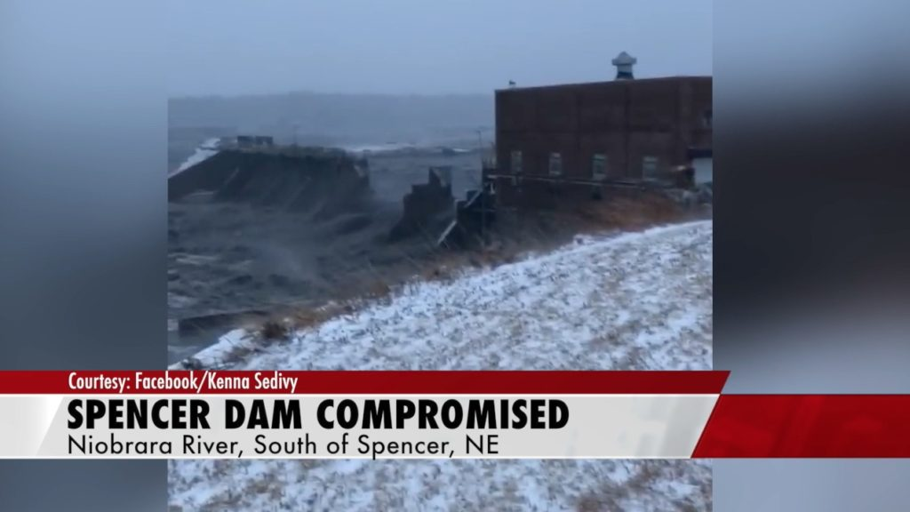 Person missing in wake of Spencer Dam breach