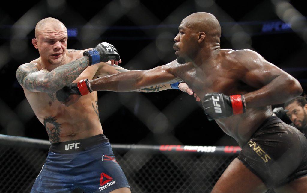 Jon Jones beat Nebraska City native, Anthony Smith, for UFC 235 title