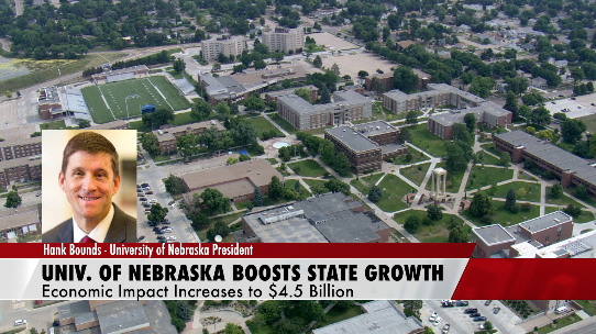 University of Nebraska Continues to Boost State Growth